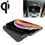 Car Qi Standard Wireless Charger 10W Quick Charging for Mercedes-Benz C GLC 2015-2019, Left Driving