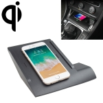 Car Qi Standard Wireless Charger 10W Quick Charging for Volkswagen Golf 7 2016-2019, Left Driving