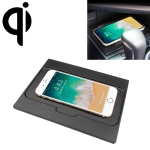 Car Qi Standard Wireless Charger 10W Quick Charging for Toyota Camry 2018-2019, Left Driving