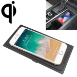 Car Qi Standard Wireless Charger 10W Quick Charging for Volvo S90L / XC60 / XC90 2017-2019, Left Driving