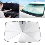 Car Retractable Sunshade Sunscreen Heat Insulation Front Windshield Sunshade, Large Size