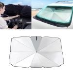 Car Retractable Sunshade Sunscreen Heat Insulation Front Windshield Sunshade, Small Size
