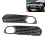 Car Front Bumper Fog Light Grille Fog Lamp Frame for BMW F20 F21 2012-2014 51117272558 / 51117272557