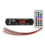 Car 12V Audio MP3 Player Decoder Board FM Radio TF Card USB AUX, with Bluetooth / Remote Control