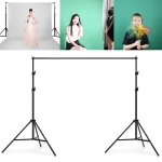 200x200cm Photo Studio Background Support Stand Backdrop Crossbar Bracket Kit