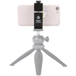 YICHUANG JH-01 Aluminum Alloy Phone Tripod Clip Holder Clamp Adapter for 65-95cm
