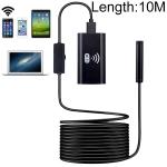 F99 HD Mobile Phone Endoscope, 8mm Waterproof Pipe Endoscope, Wifi Version, Flexible Cord, Length: 10m (Black)