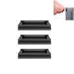3 PCS Sunnylife AIR2-DC258 Silicone Battery Dust Plug for DJI Mavic Air 2(Black)