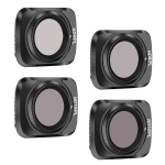 STARTRC 1107616 4 PCS ND4PL / ND8PL / ND16PL / ND32PL Drone Lens Filter for DJI Mavic Air 2 (Black)