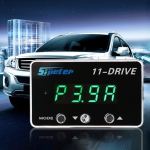 For Chevrolet Aveo Sipeter 11-Drive Automotive Power Accelerator Module Car Electronic Throttle Accelerator with LED Display