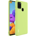 For Samsung Galaxy A21s IMAK UC-1 Series Shockproof Frosted TPU Protective Case(Green)