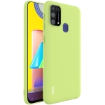 For Samsung Galaxy M31 IMAK UC-1 Series Shockproof Frosted TPU Protective Case(Green)