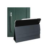 For iPad Pro 11 inch (2020) Geya Series PC + TPU Horizontal Flip Leather Case with Holder & Pen Slot & Sleep / Wake-up Function(Dark Green)