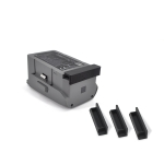 For DJI Mavic Air 2 STARTRC Three Battery Protection Dust Covers(Black)