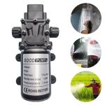 12V 120W DC Intelligent Diaphragm Pump Anti-epidemic Disinfection Automatic Spraying Spray High-pressure Pump Thread on Both Sides Positive Pump