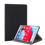 For iPad Air (2019) TPU Electric Pressed Horizontal Flip Leather Case with Holder(Black)