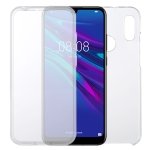 For Huawei Y6 2019 PC+TPU Ultra-Thin Double-Sided All-Inclusive Transparent Case