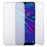 For Huawei Y7 2019 PC+TPU Ultra-Thin Double-Sided All-Inclusive Transparent Case