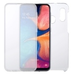 For Samsung Galaxy A20e PC+TPU Ultra-Thin Double-Sided All-Inclusive Transparent Case