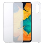 For Samsung Galaxy A30 PC+TPU Ultra-Thin Double-Sided All-Inclusive Transparent Case