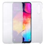 For Samsung Galaxy A50 PC+TPU Ultra-Thin Double-Sided All-Inclusive Transparent Case