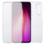 For Xiaomi Redmi Note 8T PC+TPU Ultra-Thin Double-Sided All-Inclusive Transparent Case