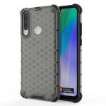 For Huawei Y6p Shockproof Honeycomb PC + TPU Protective Case(Black)