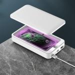 G20 UV Light Disinfection Box Sterilization Box Smartphone Cleaning Sterilizer (White)