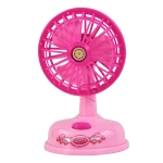 Mini Electric Fan Pretend Play Children Simulation Appliances Toys 3670