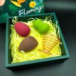Gourd Water-drop Sponge Makeup Egg Soft Cosmetic Puffs Set  (Lafite Mat)