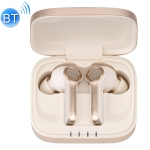 MOMAX BT5 SPARK Bluetooth 5.0 True Wireless Business Style Bluetooth Earphone (Champagne Gold)