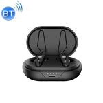 Air Plus Bluetooth 5.0 Mini Binaural Wireless Stereo Sports Bluetooth Earphone with Charging Box(Black)