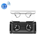 TWS-7 Plus Bluetooth 5.0 TWS Mini Binaural Invisible Wireless Sports Bluetooth Earphone with Charging Box (Black)