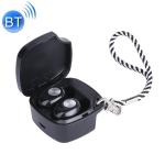TWS-A8 Bluetooth 5.0 Mini True Wireless Stereo Sports Bluetooth Earphone with Charging Box (Black)