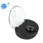 X7 Bluetooth 4.1 Mini Invisible Wireless Sports Bluetooth Earphone with Charging Box (Black)