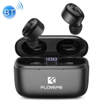 FLOVEME YXF204093 TWS In-Ear Bluetooth 5.0 Earphone with Charging Box (Black)