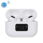 i58 TWS Bluetooth 5.0 Touch Wireless Bluetooth Earphone for IOS System Equipment, with Magnetic Attraction Charging Box & Smart Digital Display, Support Siri(White)