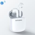 ROCK Space EB100 TWS Bluetooth 5.0 Waterproof Wireless Stereo Bluetooth Headset (White)
