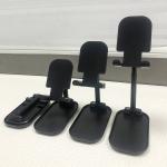 Z01 Universal Folding Retractable Desktop Holder Bracket for Mobile Phone Tablet (Black)