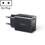 JOYROOM L-QP183 Simple Series 18W Dual Ports Intelligent Travel Charger, Support PD, QC3.0, EU Plug