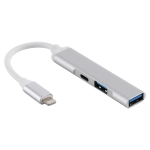 3 in 1 8 Pin Male to 2 x USB 3.0 + 8 Pin Female Camera Reader Adapter