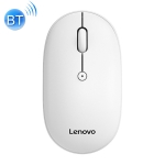 Lenovo M23 Macaron Dual Mode One-key Service Wireless Bluetooth Mouse (White)