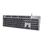 Logitech K845 CHERRY Blue Axis Backlit Mechanical Wired Keyboard, Cable Length: 1.8m