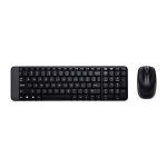 Logitech MK220 Wireless Keyboard and Mouse Set
