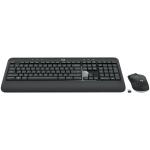 Logitech MK540 Wireless Keyboard and Mouse Set (Black)