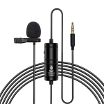 YC-VM20 3.5mm Port Video Recording Omnidirectional Lavalier Microphone, Cable Length: 6m