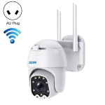 ESCAM QF288 HD 1080P PAN / Tilt / Zoom AI Humanoid Detection WiFi IP Camera, Support Night Vision / TF Card / Two-way Audio, AU Plug
