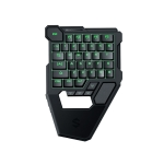 Original Xiaomi Black Shark Bluetooth 4.0 One-handed Mechanical Blue-axis Mobile Phone Game Gaming Keyboard with Colorful Lights, Suitable for IOS / Android Phones & Computers(Black)