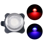 COB Lamp Bead 160LM USB Charging Four-speed Waterproof Bicycle Headlight / Taillight Set,  Red Blue Light Dimming 650MA