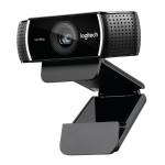 Logitech C922 PRO HD 1080P Auto Focus Webcam with 2 Omnidirectional Microphones